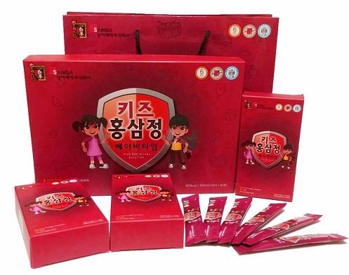 Hồng sâm baby hươu cao cổ gold kids 20ml x 30 - Mỹ Phẩm Hàn Quốc