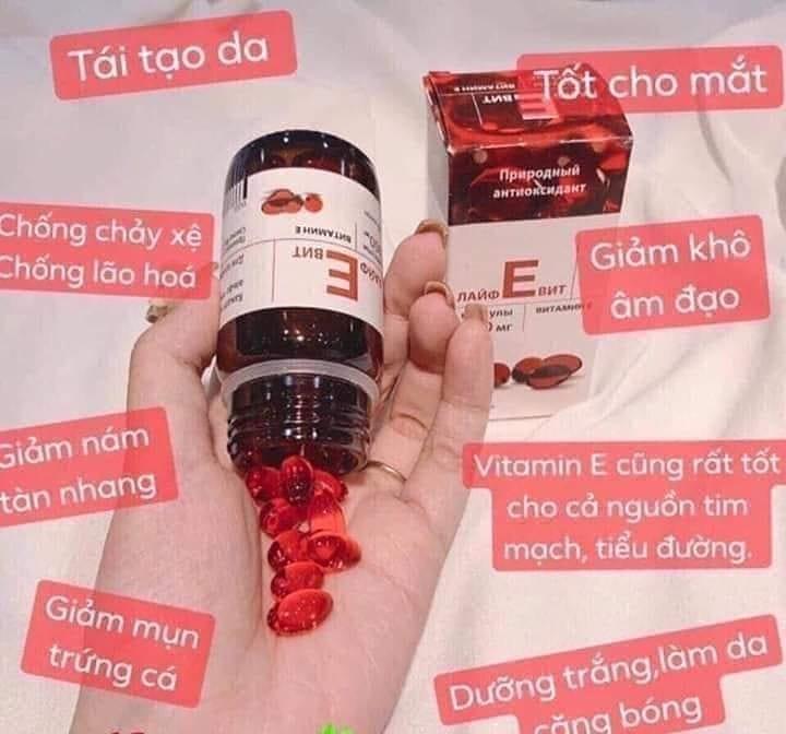 Vitamin E của Nga